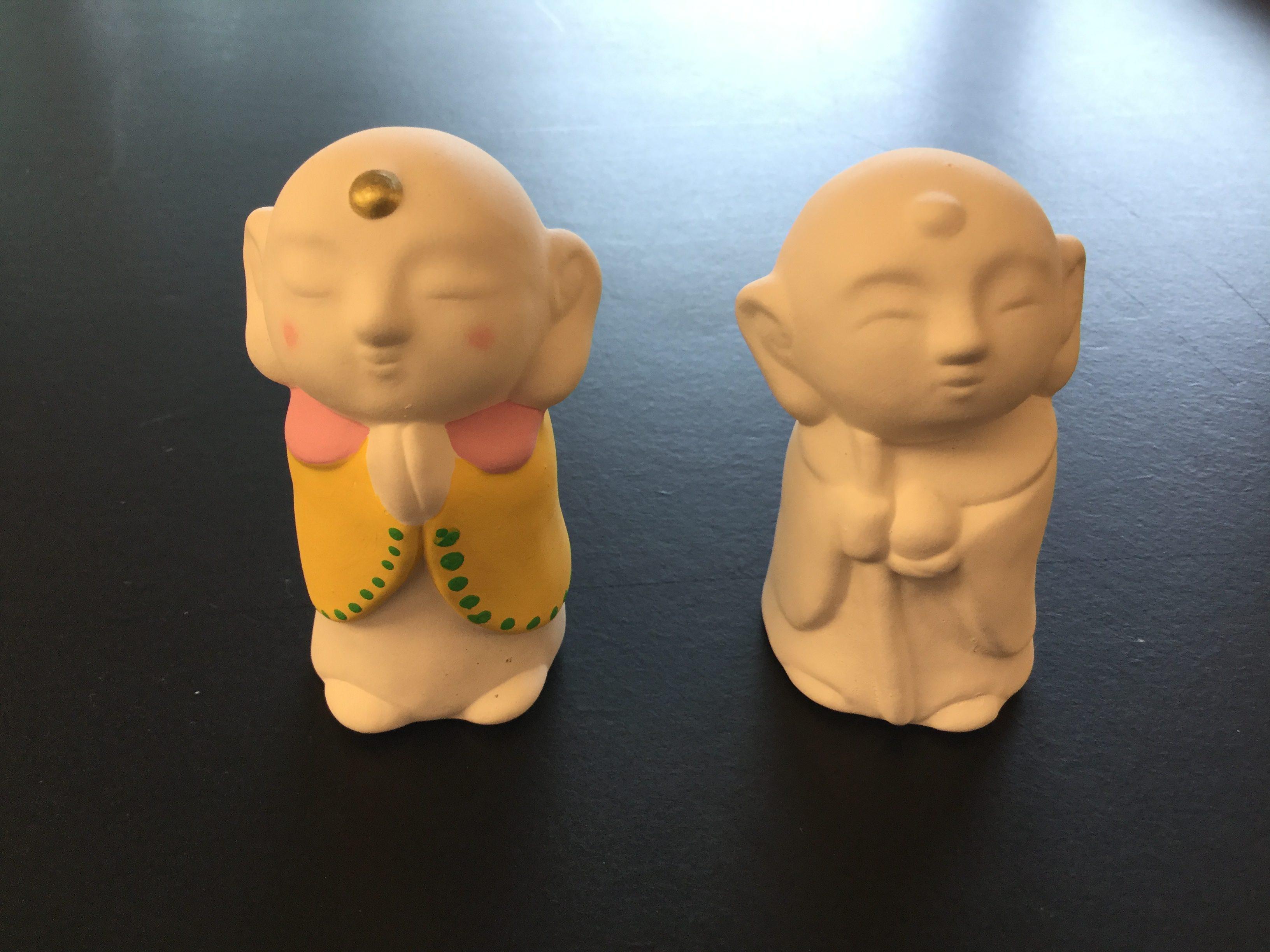 京陶人形の絵付体験