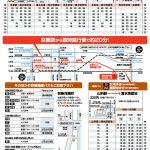 2016年 清水焼の郷まつりバス時刻表